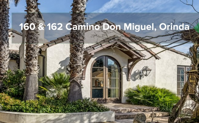 160 & 162 Camino Don Miguel, Orinda