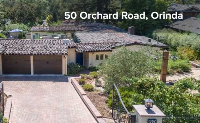 50 ORCHARD RD, ORINDA LEASE