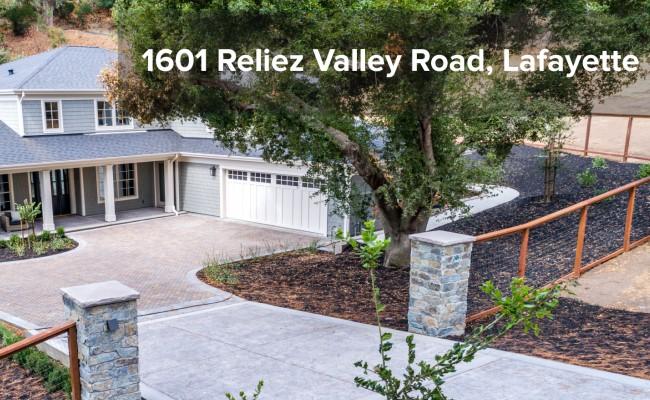 1601 RELIEZ VALLEY ROAD, LAFAYETTE PENDING